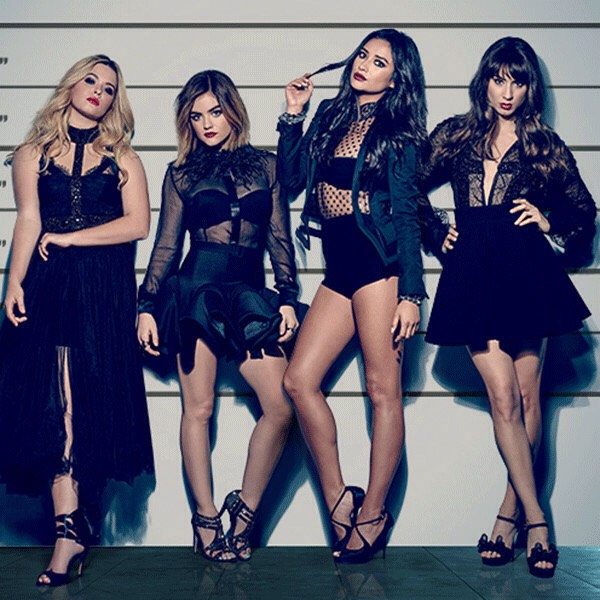 pretty little liars is so interesting and intense.! 😩 like when you find out who A is , you no longer care for the show , but you can't just stop watching it .!