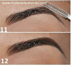 Finally, comb through your brow and you have the perfect eyebrow! Hope this helped, don't forget to save, like share, whatever:))