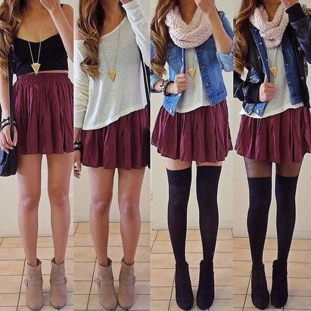 There are many different outfit choices out there and many different ideas for fall.