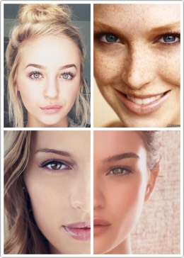 You don't need a ton of makeup to be beautiful