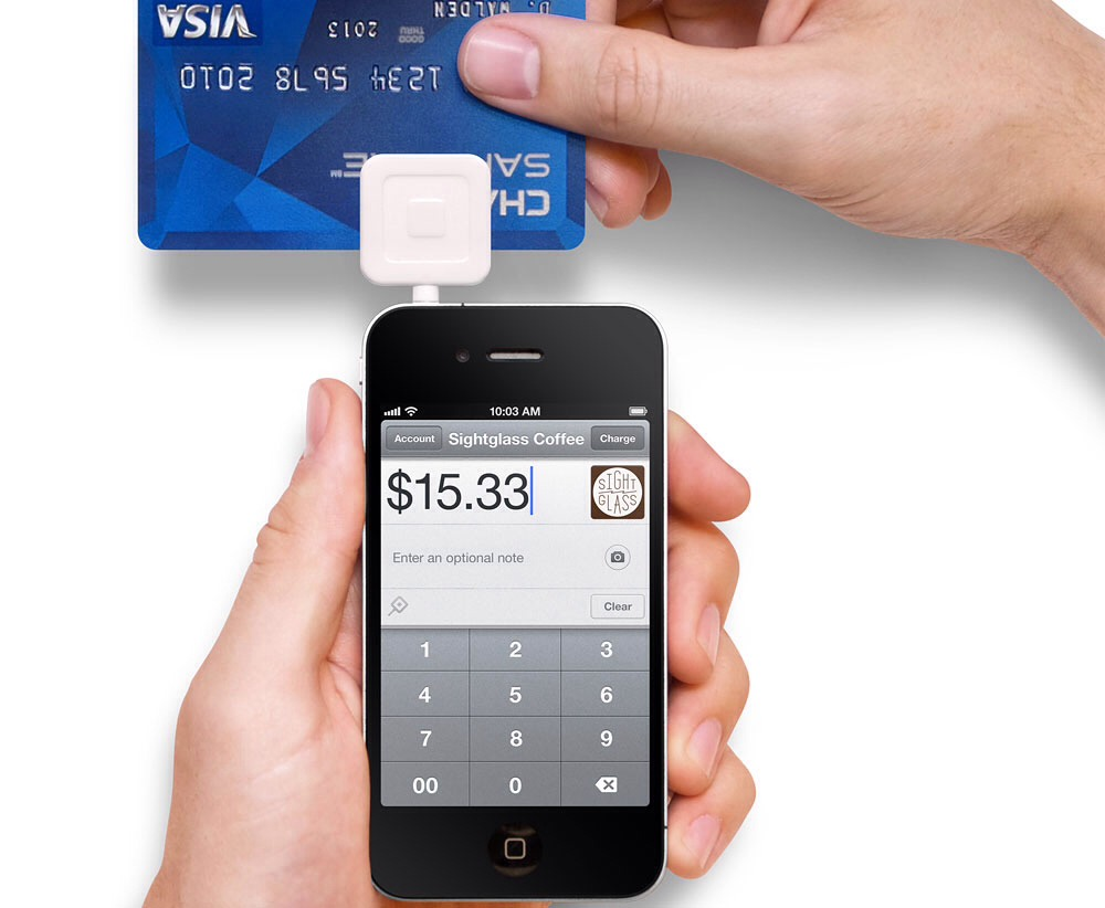 Square takes visa, master card,american express, discover card too not like most of the machine. It wont take it all