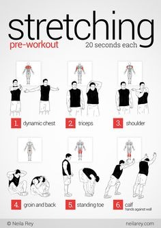 You can use this stretching routine pre work out or before bed to help ease muscles especially good on back pain