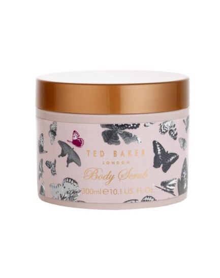Next, still wearing your mittens I recommend using this body scrub by ted baker! It's fab I have sensitive skin & it doesn't irritate me. Just apply to your kitten and run into your skin. It will leave a light layer of moisture so ensure a nice even tan!