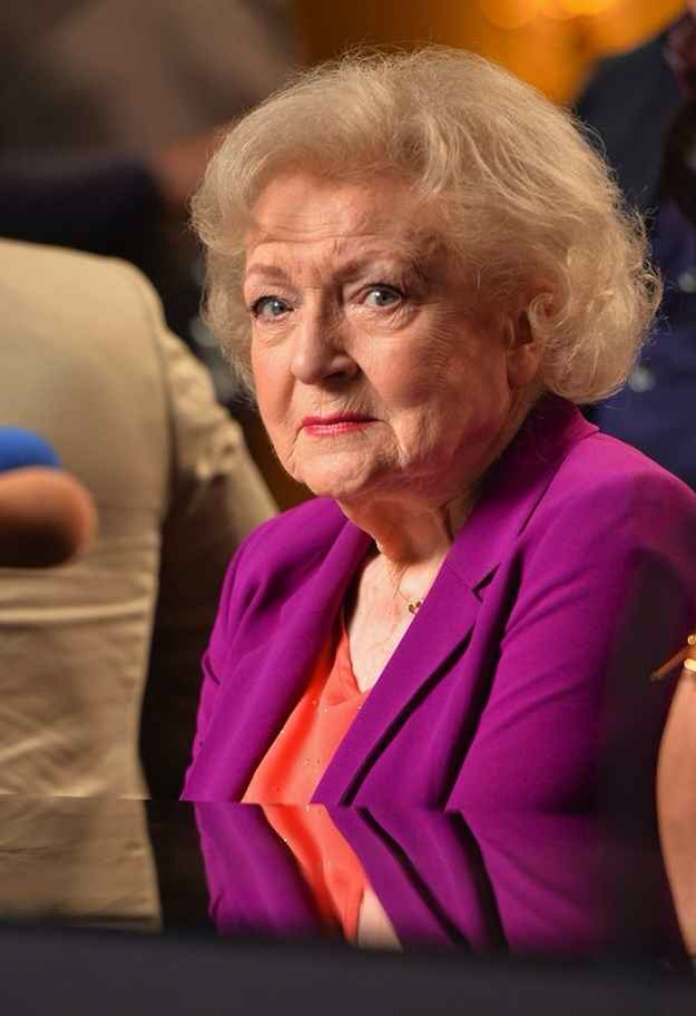 Betty White is actually older than sliced bread.