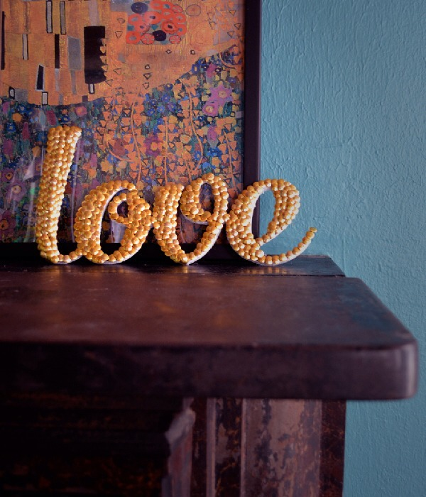 Letters & Words out of Tacks