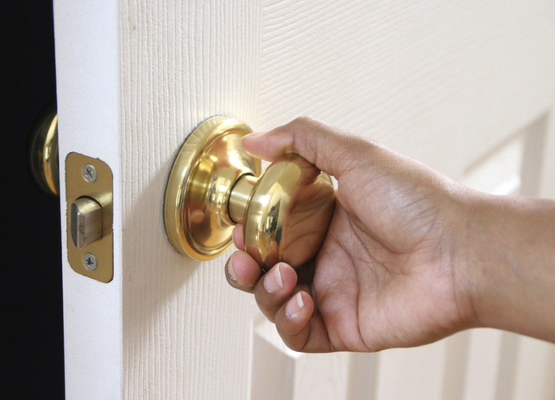 There are a lot of door knobs in the house. Any one of them could be carrying your next cold.