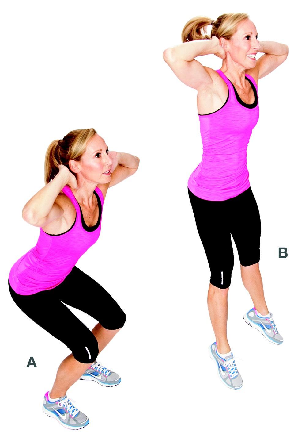 15 jump squat