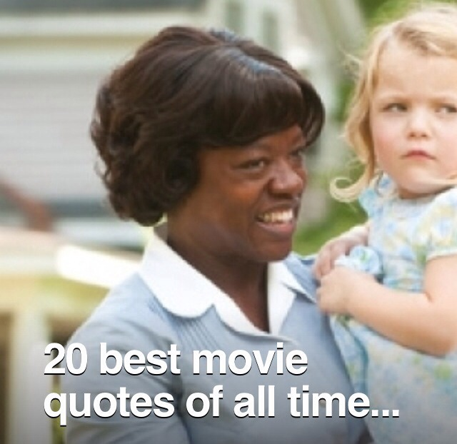 20 Best Movie Quotes Of All Time!❤️ by \'Diana 💘 - Musely