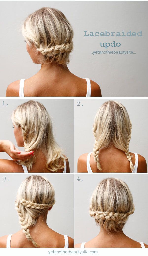 20 No Heat Hairstyles For Medium Length Hair By Kat Musely