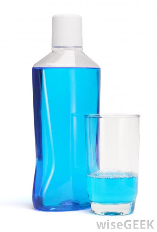 Once you've done that, use some good mouthwash, swirl it around your mouth for 30 seconds before spitting it out.