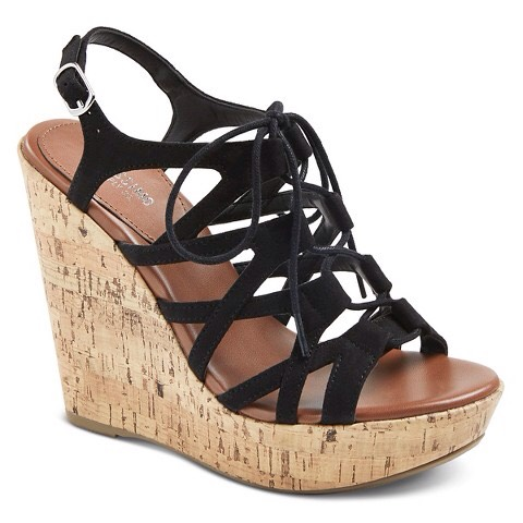 Wedged shoes are perfect for a summery dress but also help give you that longer leg look as heels do!