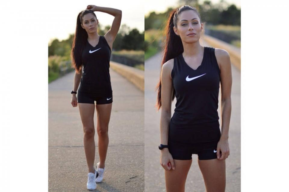 Lydia Millen  @lydianmillen A fitness & fashion blogger. Lydia makes activewear look chic.