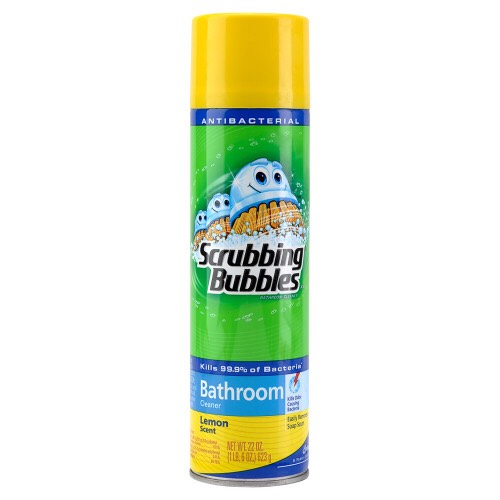 Scrub your trainers using this bathroom cleaner...