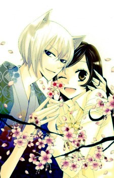 Kamisama hajimemashite  This is a manga about a girl who's dad left her and she comes to live in a shrine with a fox familiar and becomes a land God! This is my all time favorite! It has a bit of everything, a strong female lead too!