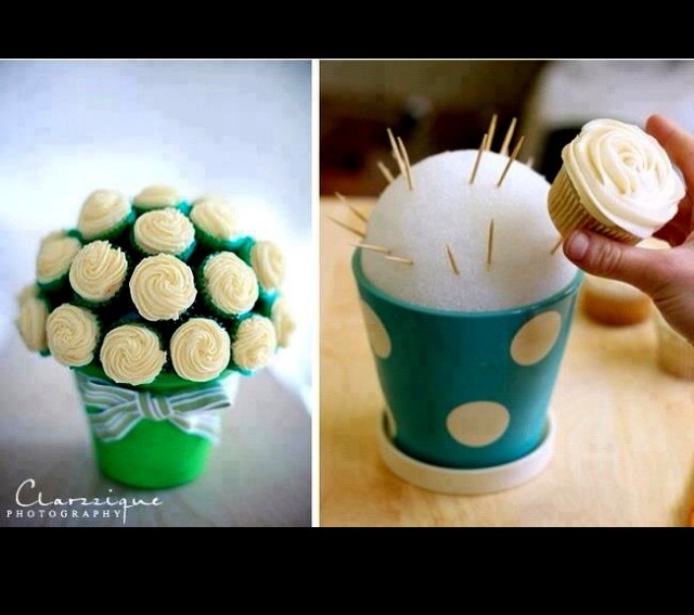 Tired of chips and salsa? Cupcakes!