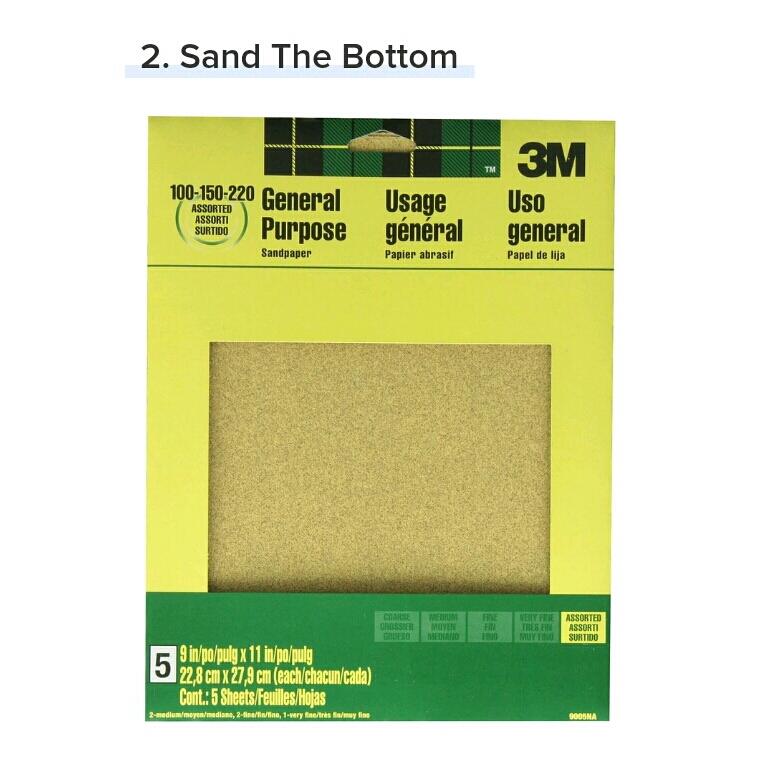 Don't want to slip all over the place? Grab a piece of sandpaper and lightly scuff up the bottom of your heels to give them some traction(3M 11-Inch Sandpaper, $2.97,amazon.com)