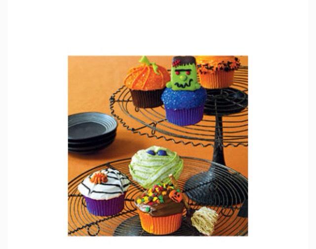 Mixture of cupcakes