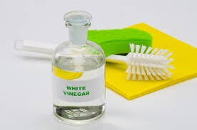 5. White Vinegar Here's a secret: adding ¼ cup of white vinegar to your wash acts as a natural fabric softener. Vinegar softens your laundry without any of the negative side effects of traditional fabric softeners. White vinegar is also a stain-fighting master when it comes to removing sugar-based stains (like juice, jam and ketchup) and even perspiration stains.