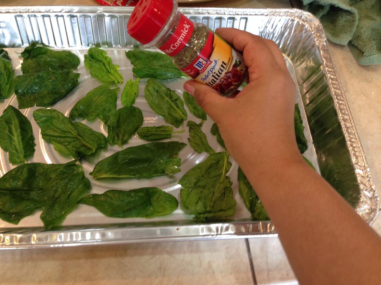 Add Italian seasoning. Again, a little goes a long way.