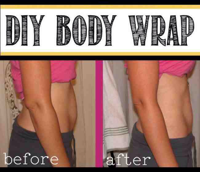 Diy At Home Weight Loss Wrap: Musely