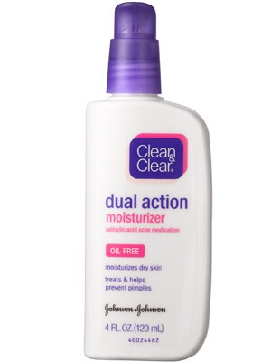 I finish by moisturizing. This is a great moisturizer because it helps to get rid of acne & it smoothes your skin.