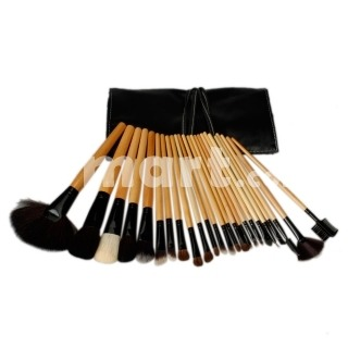 24 Piece Set Pro Cosmetic Makeup Brush Set Only $11.87                     Ships in 24 hours