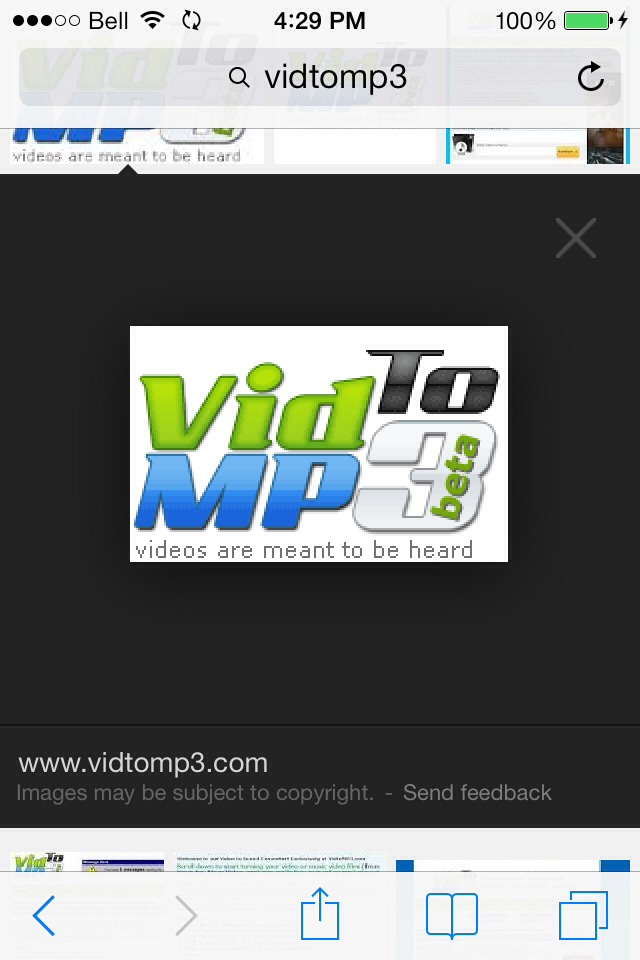 This site is used in conjunction with YouTube for a legal free way of downloading you fav songs and the latest music. www.vidtomp3.com