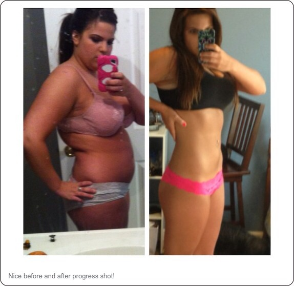 Take before and after picture so you can track your progress