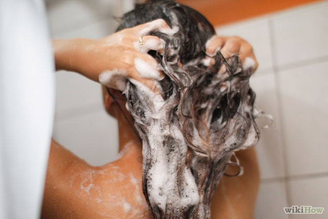 Never wash your hair everyday it will make your hair dry. If you must take a shower, put your hair in a top bun of a shower cap. Also when washing your hair, don't shower with hot water because that's really bad for your hair instead, shower with cold water so that your shampoo and conditioner stays