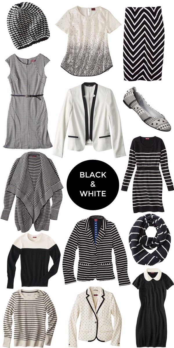 1. Black and white