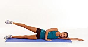 40 leg lifts (each leg)