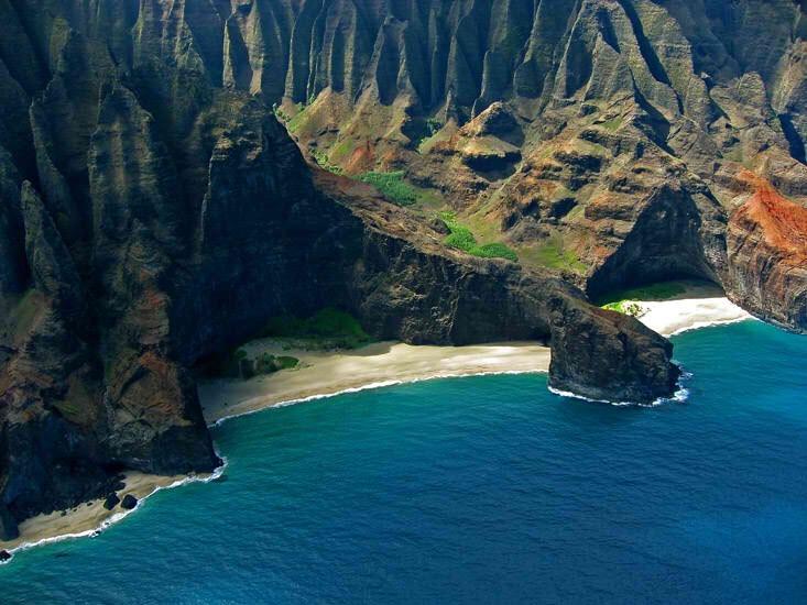 7. Honopu beach, Kauai, Hawaii