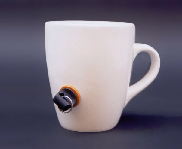 Lock Mug That Prevents Other People From Using It