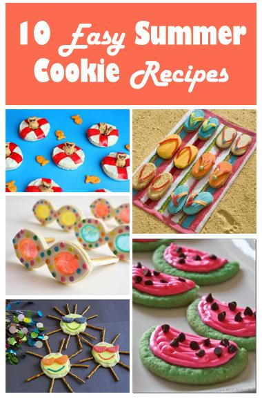 10 Easy Summer Cookie Recipes