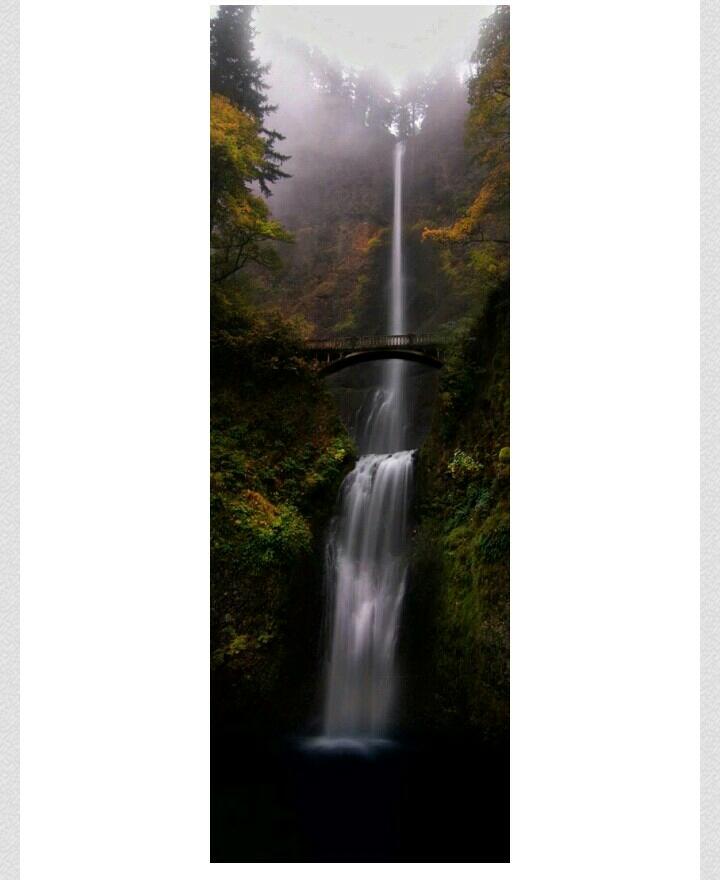 Multnoman Falls, Portland, Oregon