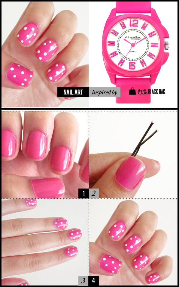 Easy, creative nail art! Can do with items found around the ... on at home highlights, at home art, at home accessories, at home spa, at home halloween costume ideas, at home tips, at home straightening, at home christmas, at home tattoos, at home hair extensions, at home fake nails, at home waxing, at home clothes, at home makeup, at home pink, at home guitar room, at home microdermabrasion, at home diy, at home acrylics, at home color,