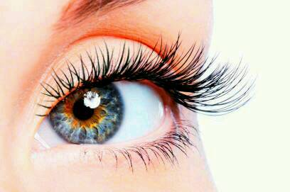 Then sleep with it over night. After a couple weeks you'll start to see healthier eyelashes.