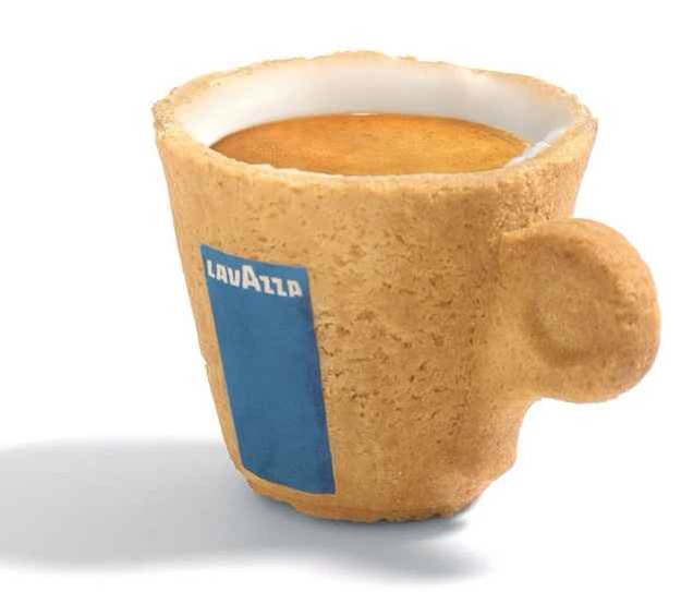 Your coffee cup could be edible