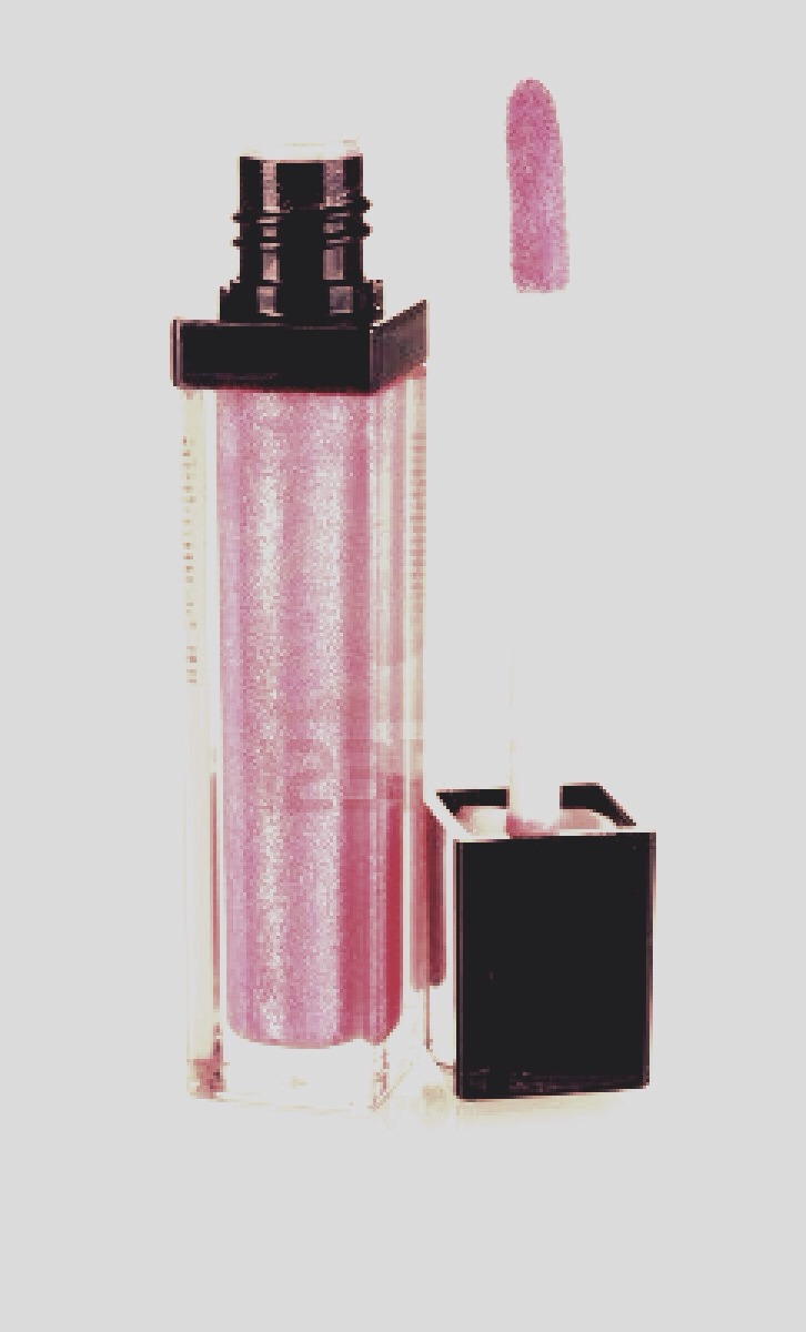 Get a dewy glow by blotting your favorite soft pink gloss over your eyelids and cheek bones