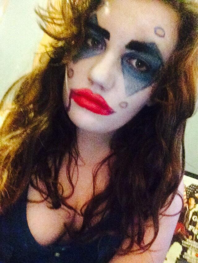 Not-so cute clown