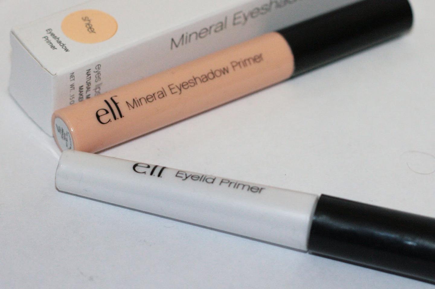 Elf Eyelid Primer and Shadow Primer-- so amazing. no creasing. lasts long. I love it! PLS like when saving