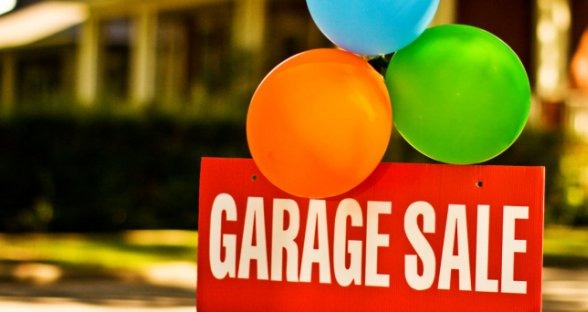 You can have a garage sale with your family or with some friends