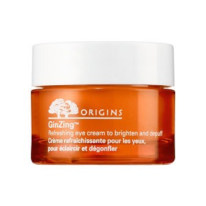 2) This cream is available from the origins brand at your local sephora.  Applying this eye cream once or twice a day will lighten dark circles.  Applying once after washing your face in the morning and again before you go to bed should be good.