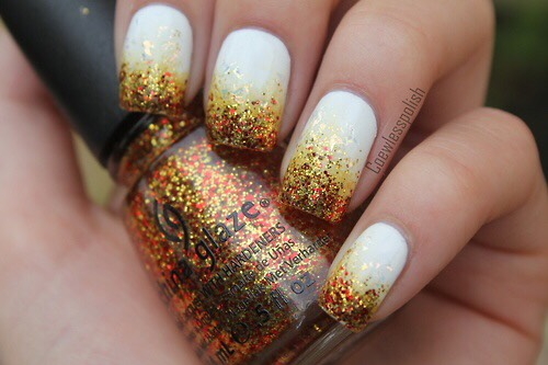These are one of my favorites! The glitter gradient looks so amazing.