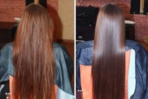 Apply coconut oil to your hair so it will become more healthier and keep it nourished and hydrated