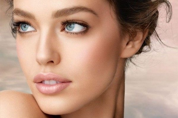 Try little makeup to look fresh faced and natural x