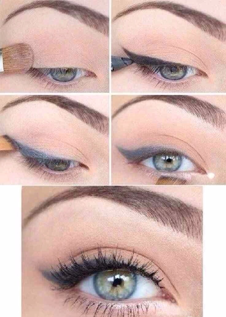 The following two tutorials, will provide some examples on two different way of lining the eye, and a cat flick.  For this tutorial:  -Flush the eye  -Add some eyeliner  -Add some mascara