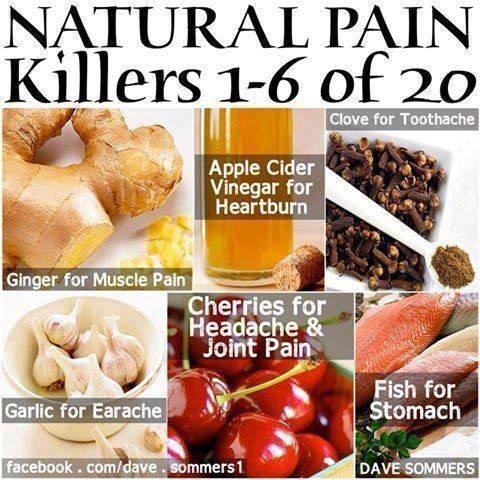 Natural painkillers that really work!