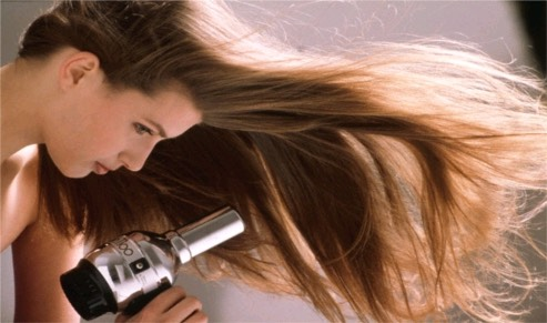 Once it's been an hour your hair should be a little damp by now but if it's still too damp then blow dry your hair.