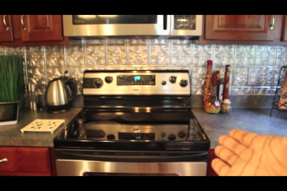 When purchasing a stove look for one with the SELF CLEANING feature